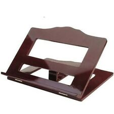 Vintage Wood Book Stand Antique Easel Holder Display Large Tabletop Recipe Rack