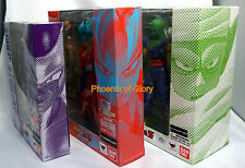 Bandai S.H Figuarts Dragonball Z Piccolo, SS God Son Goku, Golden Frieza