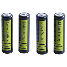 USA 2PCS 3.7 V 18650 4200mAh Li-ion Rechargeable Battery for Flashlight Torch