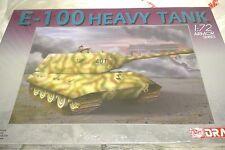 Dragon 1/72 German E-100 Heavy Tank