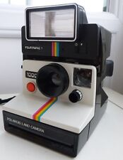 RETRO SX70 Polaroid 1000 Land Instant Camera & Polatronic Flash