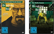 7 DVDs * BREAKING BAD - STAFFEL / SEASON  4 + 5 IM SET # NEU OVP