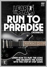TUITIONAL MUSIC DVD THE CHOIR BOYS RUN TO PARADISE LEARN TO PLAY DVD