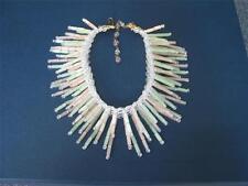 RARE Vintage spikey Ian St. Gielar Stanley Hagler glass tubes necklace