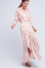 New ANTHROPOLOGIE Varina Maxi Dress Multi Color Floral Size 4 $158 Stunning !!