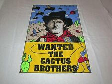 WANTED THE CACTUS BROTHERS VINTAGE CONCERT PROMO TEE SHIRT