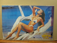 Vintage 2000 The Girls of Hawaiian Tropic original Lola hot girl poster 9526