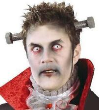Horror Frankenstein Bolts Through Neck Head Prop Halloween Fancy Dress Monster