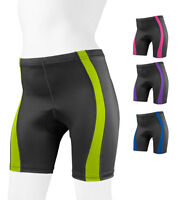 Womens Aero Tech Designs Classic 2.0 Color Padded Cycling Bike Shorts USA Made
