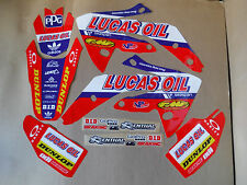 TEAM LUCAS OIL HONDA  GRAPHICS  HONDA CRF150R CRF  LIQUID COOLED  PTS