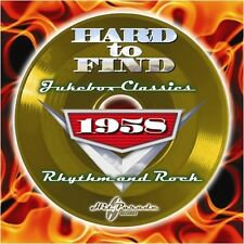 1958: Rhythm & Rock - Hard To Find Jukebox Classics (2009, CD NEUF)