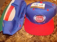 DETROIT PISTONS 95'   G-CAP RARE  SCRIPT NEW VINTAGE 90'S HAT CAP  SNAPBACK