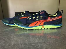 Puma FAAS 100 Tr Size 11 Minimal Trail Running Shoes Blue Orange No Box