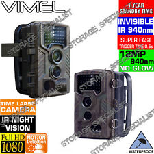 Trail Camera Wireless Farm Security Cam Waterproof Night Vision No Spy Hidden