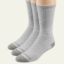 Timberland Men's Multipurpose Crew Gray Casual One Size Sock 3Pk Style IM405
