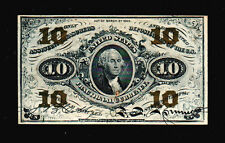 1863 10 Cents   Fractional Currency Note 3rd Issue