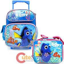 Finding Dory Small School Roller Backpack with Lunch Bag 2pc Set