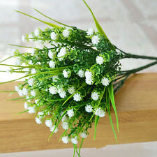 Decoration Decor Green Plastic Flower Wedding Fake Plants Artificial Grass