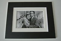 Christopher Plummer Signed Autograph 10x8 photo display Sound Of Music Film COA