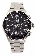 AUTHENTIC TAG HEUER CAN1010.BA0821  AQUARACER QUARTZ CHRONOGRAPH MENS WATCH