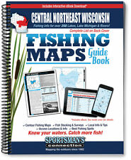 Central Northeast Wisconsin Fishing Map Guide | 2016 Edition - SCMaps