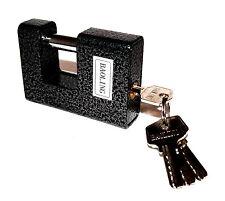 Monoblocco 90mm Sicurezza - Lucchetto Lucchetto Catene Griglie Rotolamento