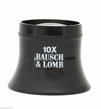 New Jewelers or Watchmakers Bausch & Lomb Single Lens Loupe Loop 10X Power