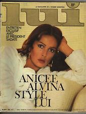 French magazine LUI Anicée Alvina