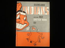 1952 Cleveland Indians Baseball Yearbook