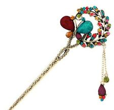 Butterfly Jewelry Crystal Hair Clips HairPin For Beauty Tools ZH
