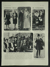 Bramham Park Wedding Francis Ward Jackson Marcia Lane-Fox 1929 Photo Article