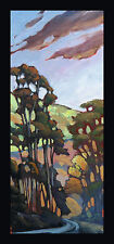 Art Painting Impressionism American California Craftsman Light  Hawkins original