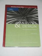 SYSTEMS ANALYSIS & DESIGN in a Changing World - 4th Interrnational Ed. 2006 NEW