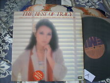 a941981 Tracy Huang 黃露儀 黃鶯鶯 EMI Best LP with Poster The Best of Tracy (A)