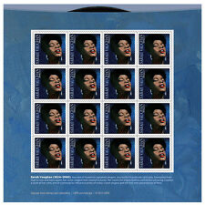 USPS New Sarah Vaughan Pane of 16