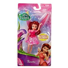 "Disney Fairies - 4.5"" Sparkle Collection Doll - Rosetta  *BRAND NEW*"