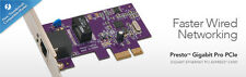 Sonnet Presto Gigabit Pro PCI-Express Card - Faster Wired Networking (NEW)