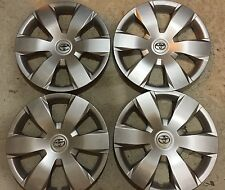 "Set Of 4 61137 Toyota Camry Hubcaps Wheel Covers 16"" In 2007 08 09 10 11 12 New"