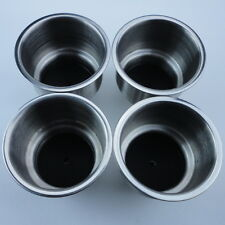 4PCS Stainless Steel Cup Drink Holder Can Cup Holder For Rack marine boat Car RV