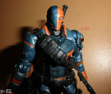 DEATHSTROKE figure ARKHAM ORIGINS dark knight DC multiverse TOY batman villain