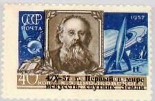 Russia Unione Sovietica 1957 2026 2021 SPACE SPUTNIK 1 OVP Tsiolkovsky spaziale MNH