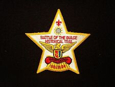 BOY SCOUT  BATTLE OF THE BULGE HISTORICAL TRAIL   BASTOGNE BELGIUM