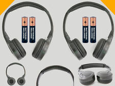 2 Wireless DVD Headsets for Dodge Vehicles : New Headphones - Made for Kids!