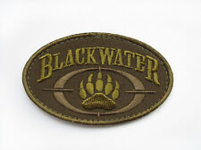 BLACK WATER WORLDWIDE U.S. ARMY MORALE BADGE TACTICAL EMBROIDERY PATCH #61