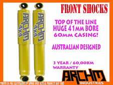 HOLDEN RODEO 2003-2008 RA FRONT 41mm BORE FOAM CELL ARCHM4x4 SHOCK ABSORBER