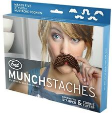 Mustache Moustache Cookie Cutters Munchstache Cookie Cake Decorator Kids Baking