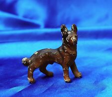 HUBLEY Iron German Shepherd Belgian TErvuren  male dog  Party favor Paperweight