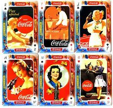 COCA COLA Lot de 6 Cartes NEUVES DIFFERENTES Lot N° COCAJ 3