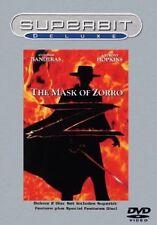 Brand New DVD The Mask of Zorro (Superbit Deluxe)  Antonio Banderas Anthony Hop