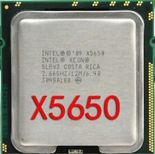 CPU Intel Xeon  X5650 2.66GHz/12MB/6.40GT/s 95W LGA1366 Socket B Processor CPU